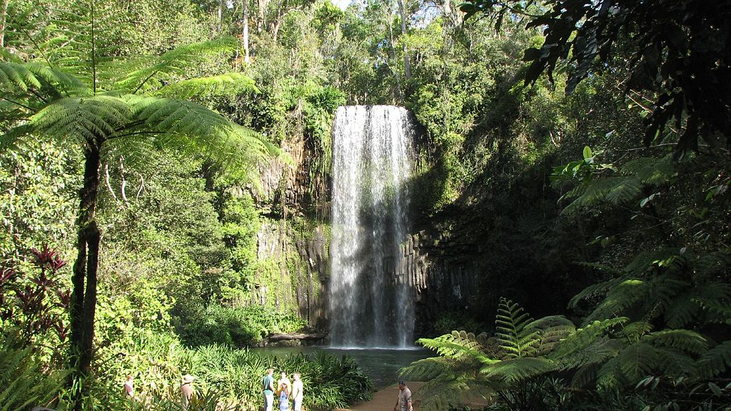 guia de viaje a australia - milla milla falls