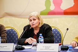Milva Ekonomi, Minister of Economic Development, Tourism, Trade and Entrepreneurship.JPG
