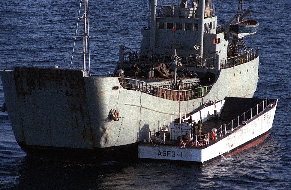 Mine laying ship Iran Ajr