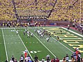 Minnesota vs. Michigan football 2013 05 (Michigan on offense).jpg