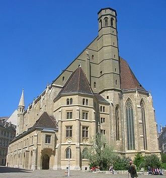 Minoritenkirche - Minoritenkirche, Vienna, Austria