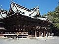 Mishima-taisha, Haiden, 20110918.jpg