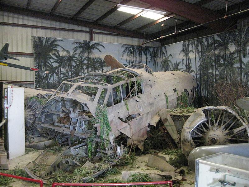 File:Mitsubishi G4M wreck Planes of Fame.JPG