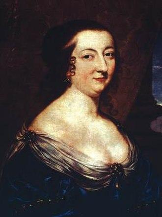 Catherine de Vivonne, marquise de Rambouillet - (anonymous, 17th century)