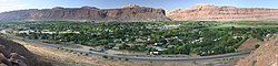 Moab view from the Canyon wall - Sept 2004.jpg