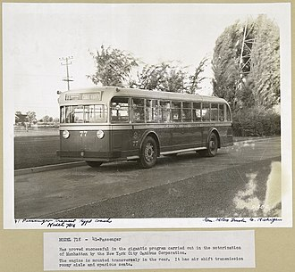 Yellow Coach Manufacturing Company - Image: Model 718 41 Passenger New York City Omnibus Corporation (3593428904)