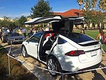 Tesla Model X & Gull-wing door - Wikipedia Pezcame.Com