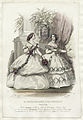 Modeplansch ur Le journal des dames et des demoiselles februari 1858 - Nordiska Museet - NMA.0059055.jpg
