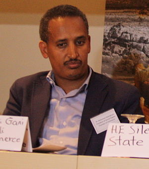 Jijiga - Dr. Mohamed Abdulghani, President of the Somali Region Chamber of Commerce based in Jijiga