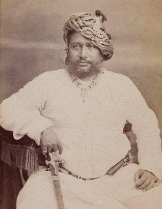 Balasinor State - Nawab Mohammad Zorawar Khanji (1828-1882).