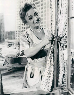 Molly Picon - Picon as Mrs. Bronson, 1962.