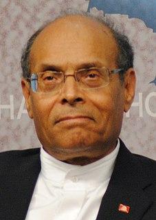 Moncef Marzouki President of Tunisia from 2011 to 2014