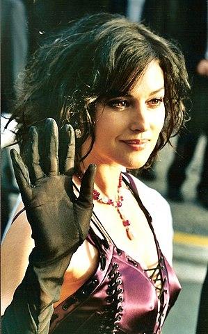 Моника Беллуччи премьера фильма «Матрица: перегрузка» 2003