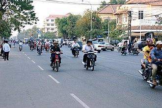 Monivong Boulevard - Monivong Boulevard.