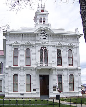 Mono County, California - The Mono County Court House in Bridgeport.