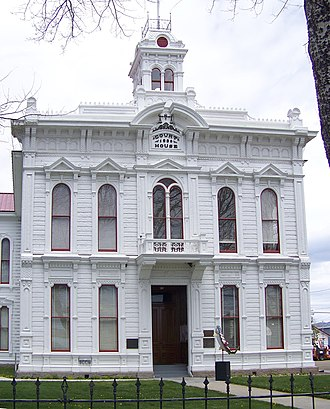 Bridgeport, California - The Mono County Court House in Bridgeport