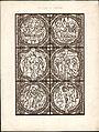 Monografie de la Cathedrale de Chartres - Atlas - Vitrail de la passion de Jesus Christ - Plan H - Feuille B.jpg