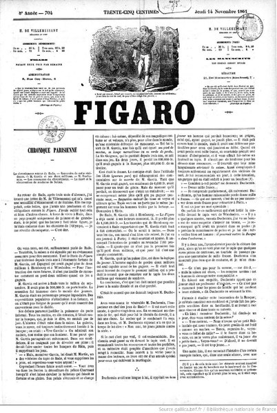 File:Monselet - Le Marquis de Villemer par George Sand, paru dans Le Figaro, 14 novembre 1861.djvu