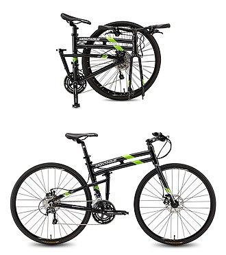 Montague Bikes - Montague FIT open and folded composite.