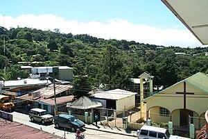 Monteverde - Commercial street in Santa Elena