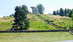 Cedynia - Cedynia monument