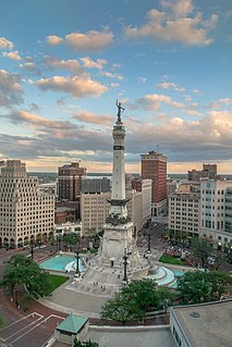 Soldiers and Sailors Monument (Indianapolis) United States historic place