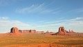 Monument Valley Arizona october 2012 sunrise view nv.jpg