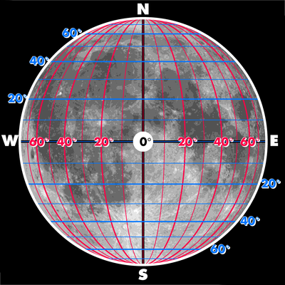 Selenographic coordinates - Wikipedia on