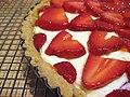 Moosewood strawberry mascarpone tart, 2008.jpg