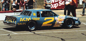 Morgan Shepherd - Driving for Jim Stacy in 1983.
