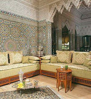 Moroccan frills