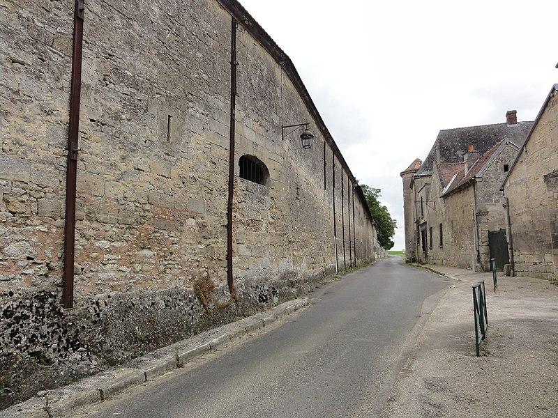 Mortefontaine (Aisne) Rue des Templiers