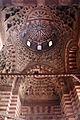 Moschea del sultano hasan, 1362, interno, androne, volta 03.JPG