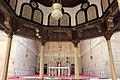 Moschea del sultano hasan, 1362, interno, cortile, fontana (sabil) 05.JPG