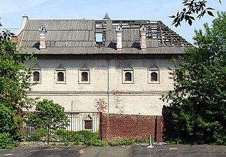 Krutitsy - A 17th-century dormitory by the riverside.