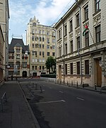 Moskova, Mamonovsky şeritli, Jordan.jpg büyükelçiliği