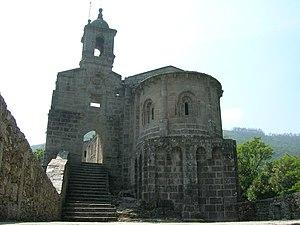 A Capela - Monastery of San Xoán de Caaveiro.