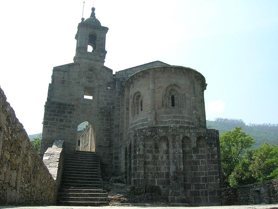 Mosteiro de San Xoán de Caaveiro.Galicia-España