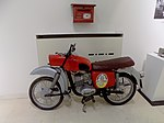 Motorcycle for mail transport in Serbia (PTT Museum in Serbia).jpg