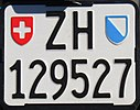 Motorcycle license plate Zuerich Switzerland.jpg
