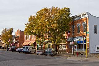 Mount Vernon, Iowa City in Iowa, United States