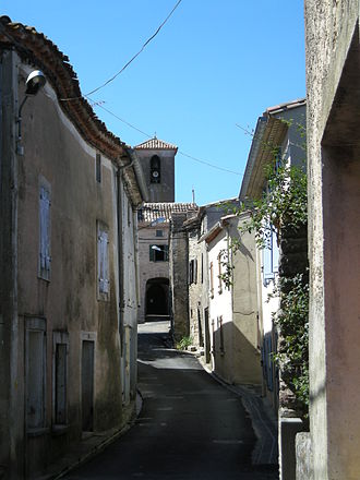 Mouthoumet - Image: Mouthoumet Rue