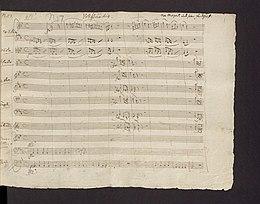 Mozart, Piyano Konçertosu No. 27, Bb Major, K595, imza el yazması (f.1r) .jpg