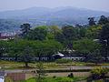 Mt Iwozen from Kanazawa Castle.jpg