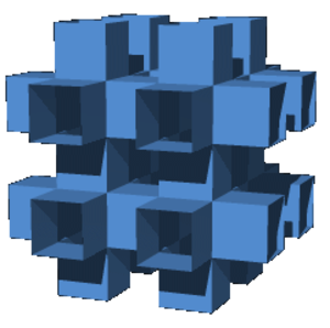 Skew apeirohedron - Image: Mucube