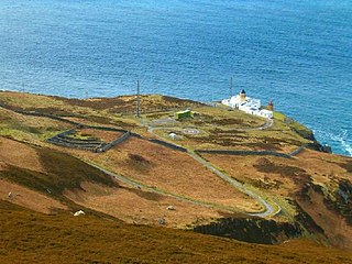 Mull of Kintyre Headland in Scotland