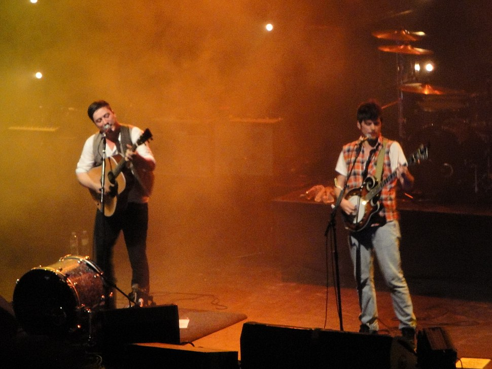 Mumford & Sons performing at Brighton Dome in October 2010 6