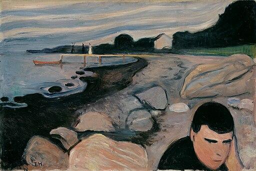Munch Melankoli 1892