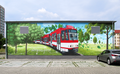 Mural at Thiemstraße substation (south).png