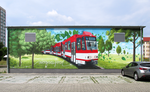 Mural at Thiemstraße substation (south).png